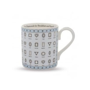 Купить Кружка EAT DIAMONDS FOR BREAKFAST MUG