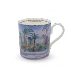 Купить Кружка THE GARDEN AT THE MAMOUNIA HOTEL' BY CHURCHILL MUG