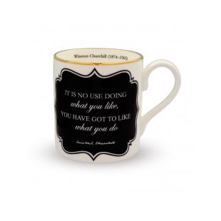 Купить Кружка IT'S NO USE DOING WHAT YOU LIKE... MUG