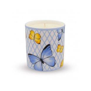 Купить Свеча BUTTERFLY TRELLIS BLUEBELL SCENTED FILLED CANDLE
