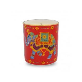 Купить Свеча CEREMONIAL INDIAN ELEPHANT ON RED FILLED CANDLE