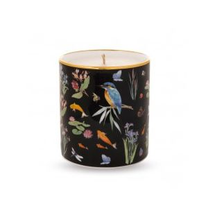 Купить Свеча BLACK KINGFISHER LILAC SCENTED FILLED CANDLE